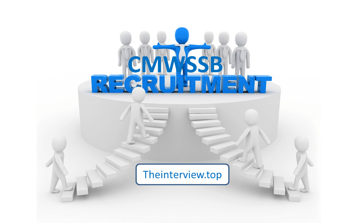 cmwssb recruitment