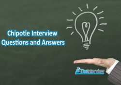 chipotle interview questions and answers