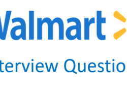 walmart interview questions and answers