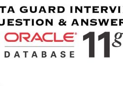 data guard interview question & answers in oracle 11g
