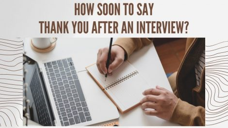 How soon to send thank you email after the interview